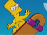 Play Bart Simpson Skateboarding